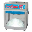 Snow Cone Machine for hire for fetes, festivals and events